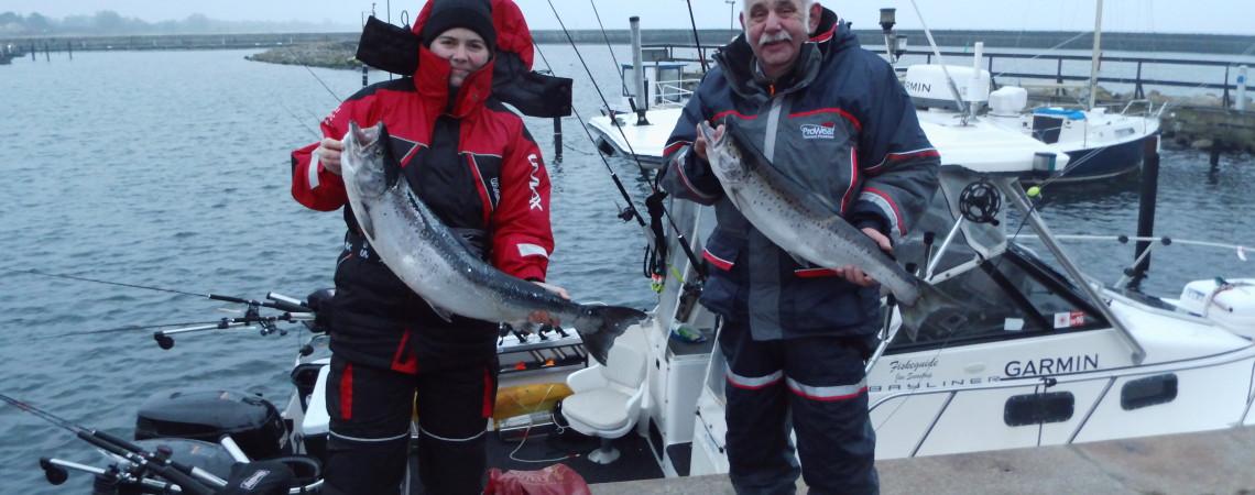Familie trollingtur med Svenstrup sportfishing 2016